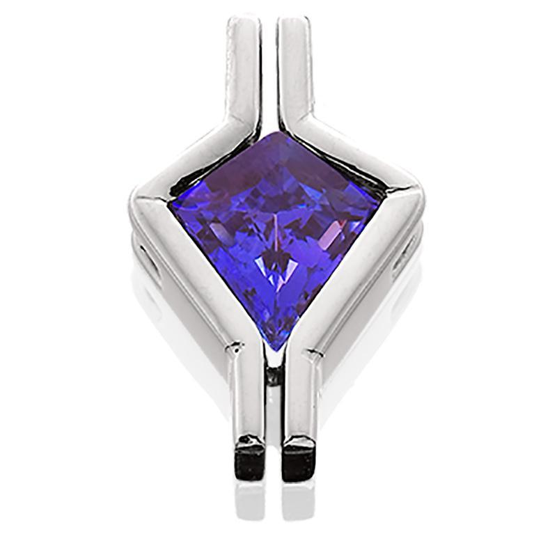 Plat Pend Tanzanite 2.30ct Kite Shaped
