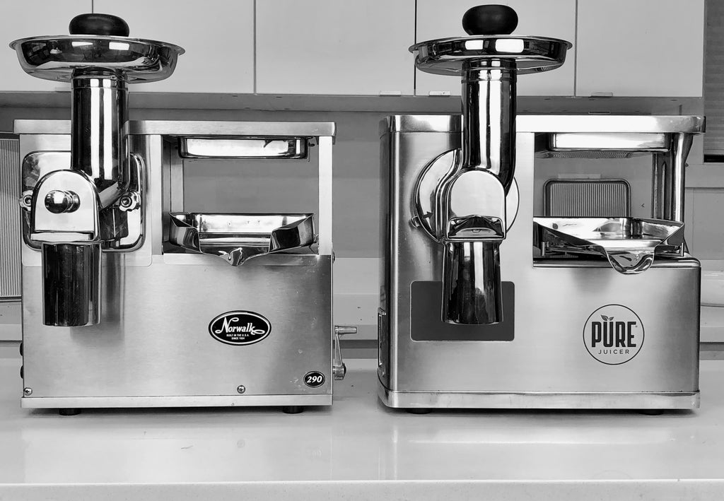 NORWALK JUICER AND PURE JUICER COMPARISON