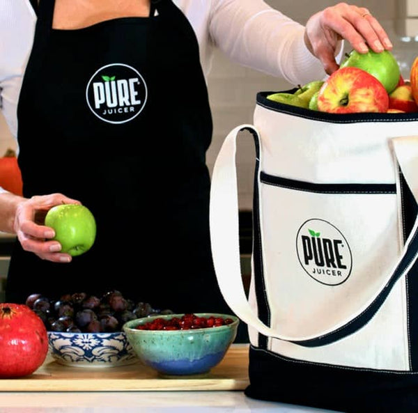 PURE Holiday Special Gift - Tote and Apron