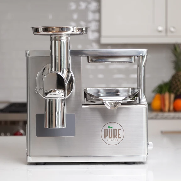 PURE Juicer | Hydraulic Cold Press Juicer