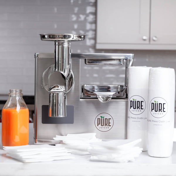 PURE Juicer | Chef Edition - Two-Stage Masticating Juicer