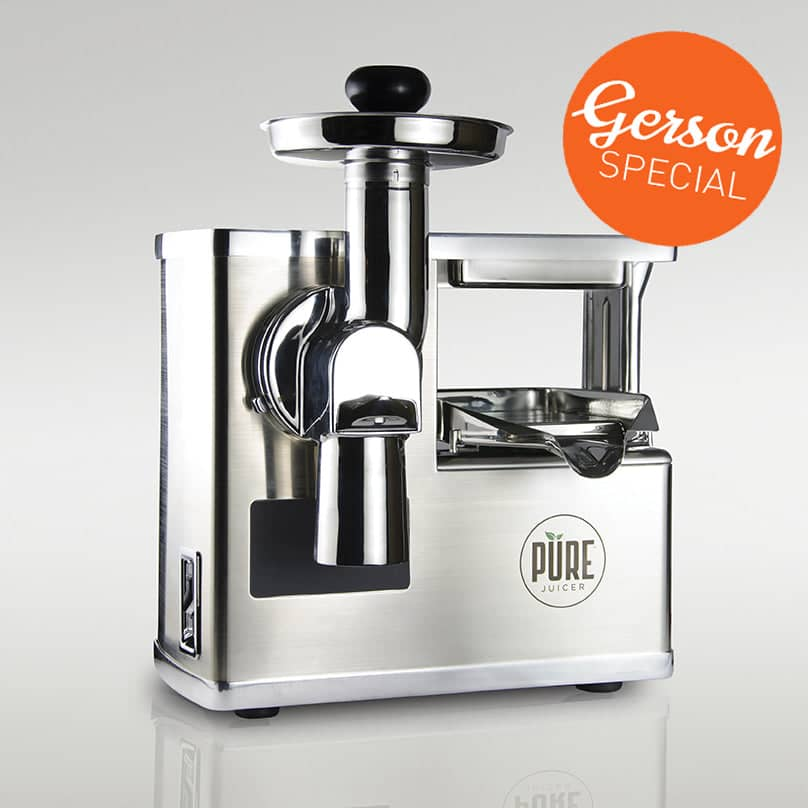 PURE Juicer  -  Gerson Special