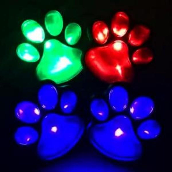 4 Solar Paw-printed Garden Pads | Have a Magical Pathway Light Light GlamorousDogs Changeable