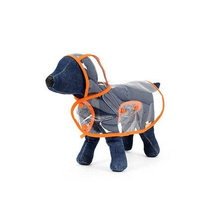 A Raincoat for dogs to Keep Your Dog Protected in Rainy Days Stunning Pets M Orange