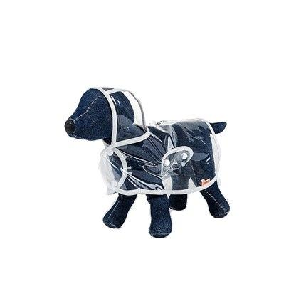 A Raincoat for dogs to Keep Your Dog Protected in Rainy Days Stunning Pets M White