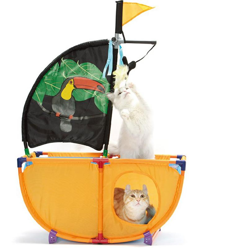 Cat Pirate Ship | Amazing Full of Excitement Toy for Cats