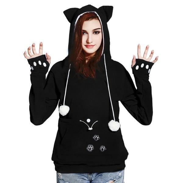 Cat Pouch Hoodie| Cat Pouch Sweater