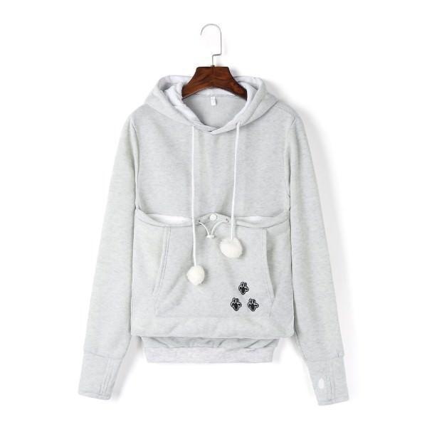 Cat Pouch Hoodie, Cat Pouch Sweater| GlamorousDogs.