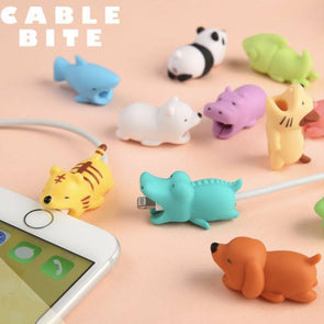 Cute Animal Cable Bites | Best Gifts for Animal Lovers Cable bites GlamorousDogs