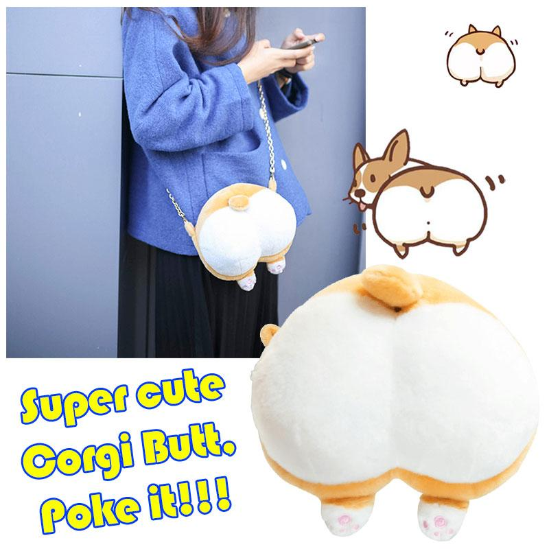 Cute Corgi Butt Coin Bag