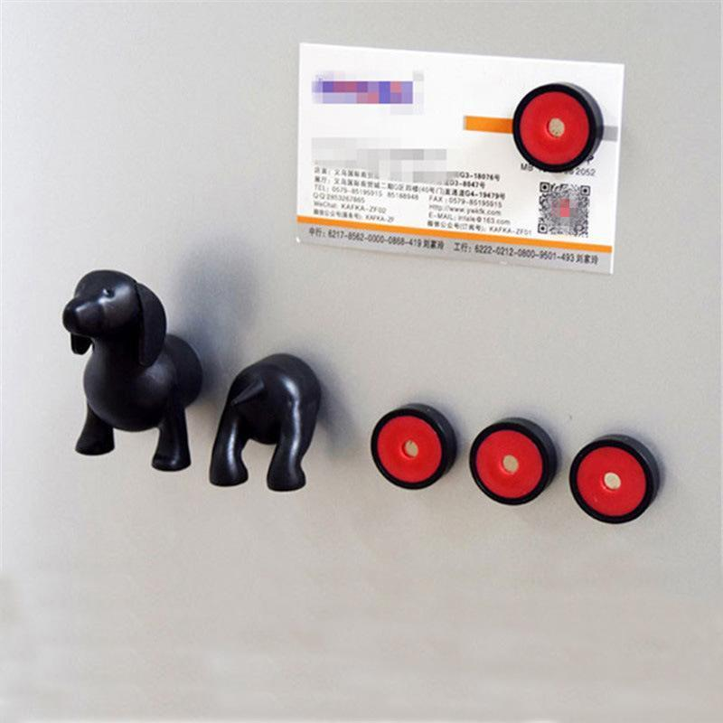 Cute Decorative Dachshund Fridge Magnets Set