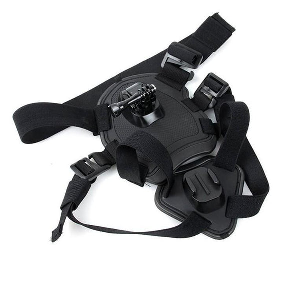Dog Harness Chest Mount for Gopro hero - Limited Edition GoPro Vest GlamorousDogs