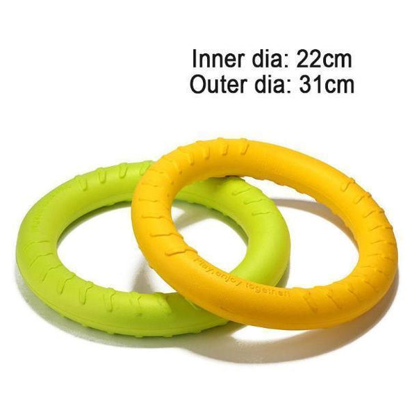 Durable Dental Dog Floating Training Ring Summer Toys Stunning Pets