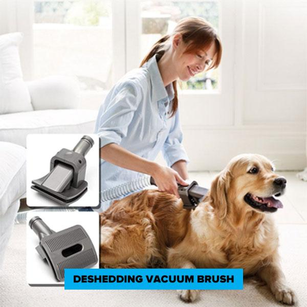 FURVAC™: Deshedding Dog Brush With Vacuum