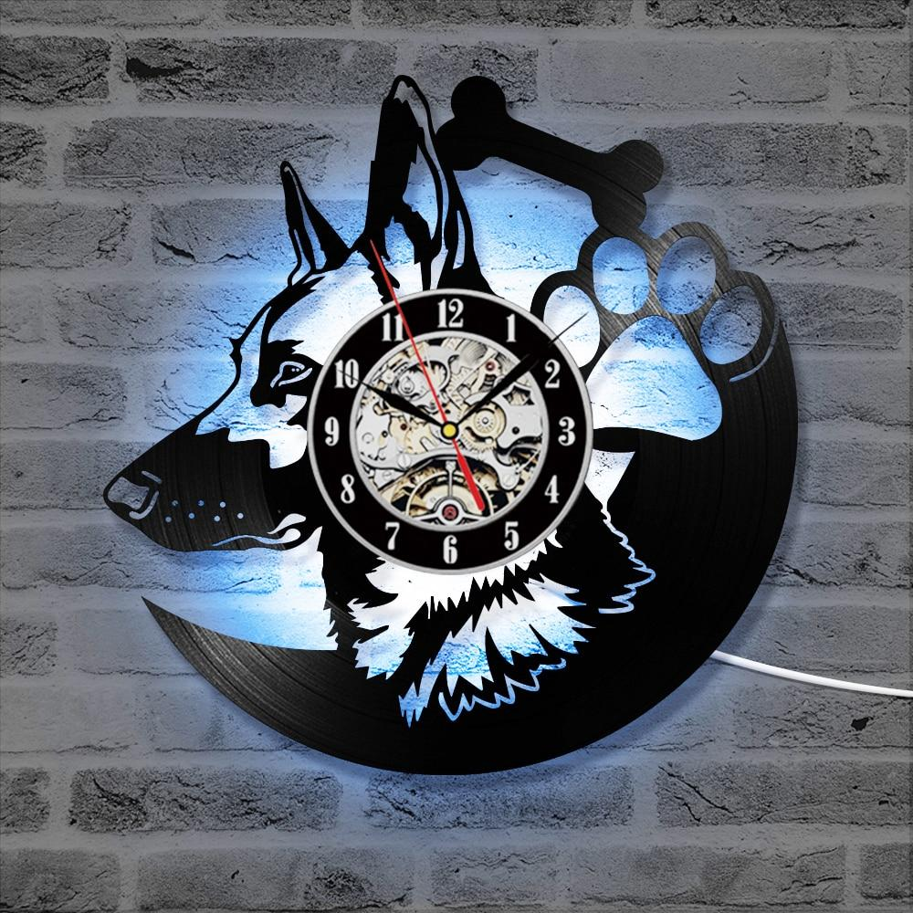 German Shepherd Dog LED Clock
