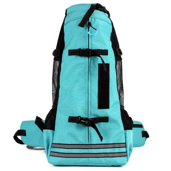 Hands-free Adjustable Pet Backpack Carrier Pet Carrier Glorious Kek Up to 11 lbs Mint