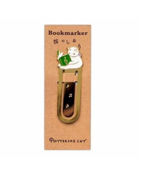 Kitty Metal Bookmark Clip Stunning Pets Note cat
