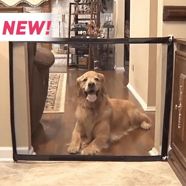 Magic Gate Portable Folding Safe Guard For Pets