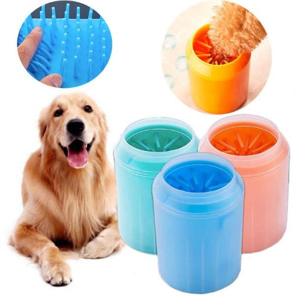 PAWCARE™: Gentle Portable Paw Cleaner Cup Dog Cleaning Cup Glamorous Dogs