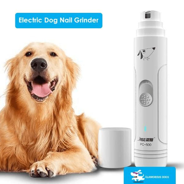 PAWGRND™: USB Rechargeable Nail Grinder For Dog grooming GlamorousDogs