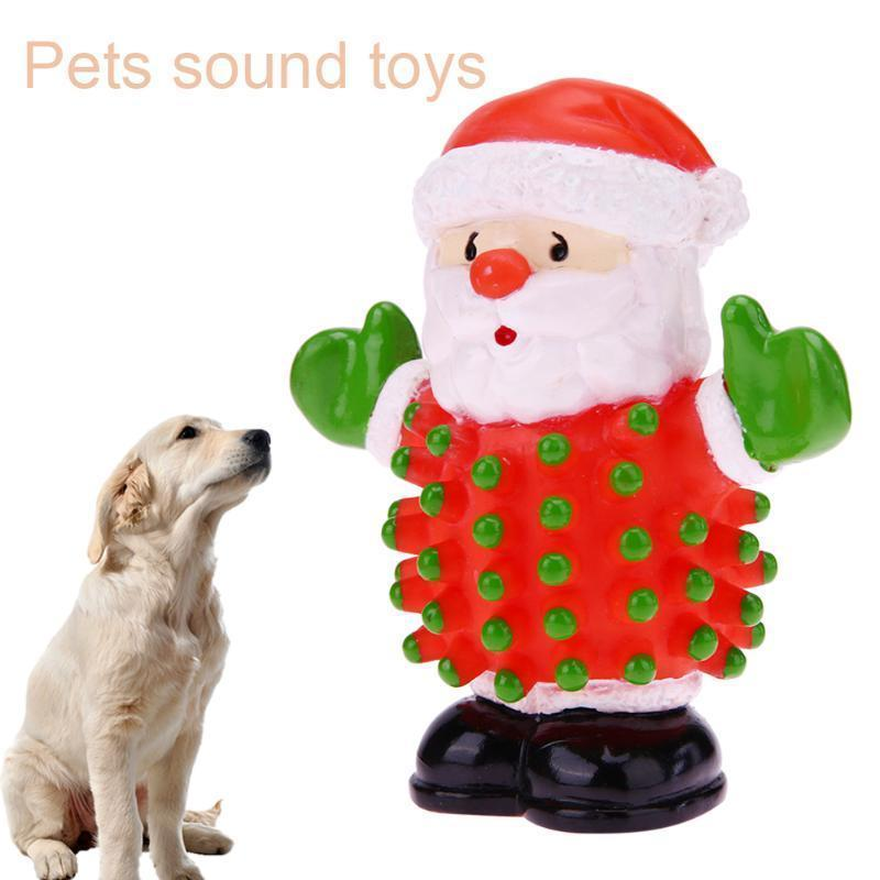 Pet Chew Santa Squeaky Toy Stunning Pets