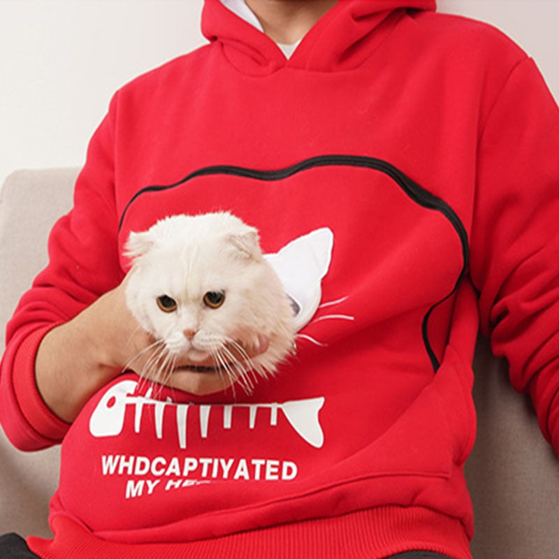 Pet Lovers Pullovers Loose Sweatshirt With A Pocket