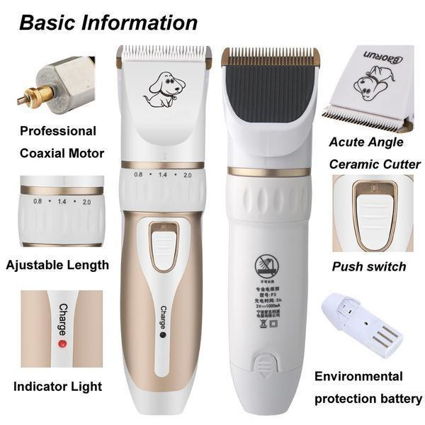 Professional Dog Grooming Clipper |Dog Grooming Kit