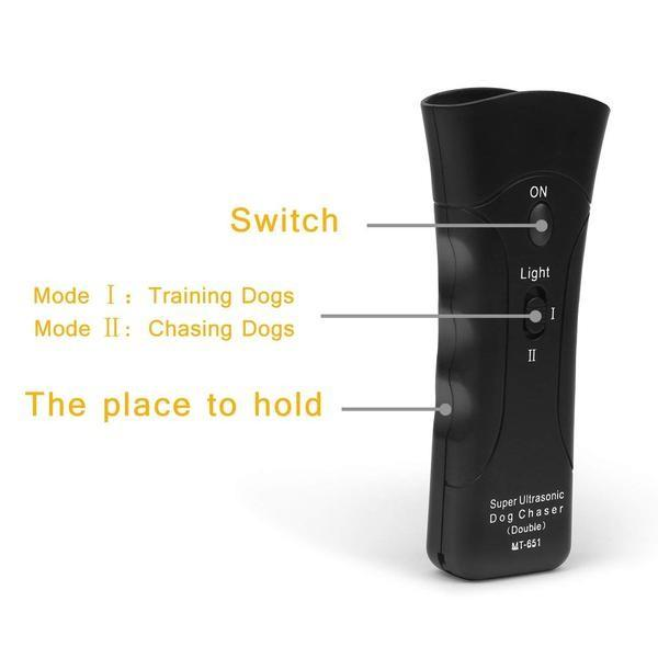 Repellent Ultrasonic Anti barking Device to train your dog