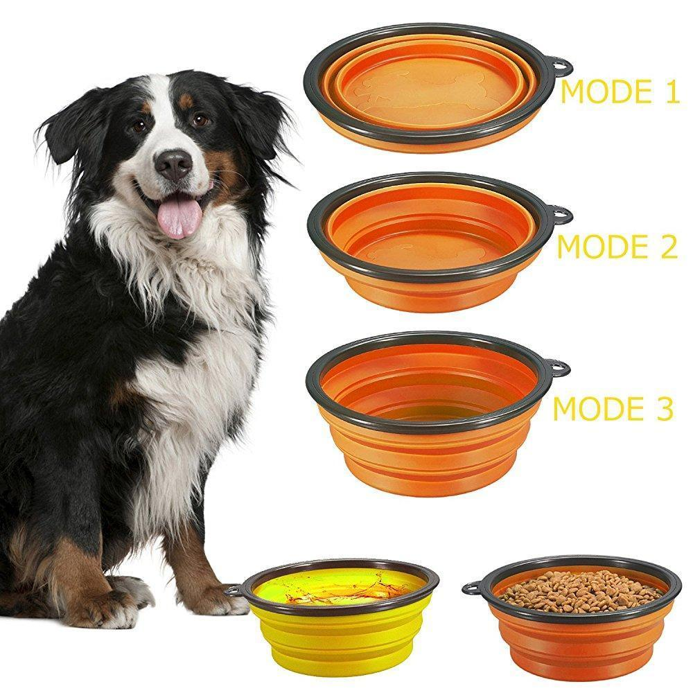 The Fold-able Dog Bowl Stunning Pets