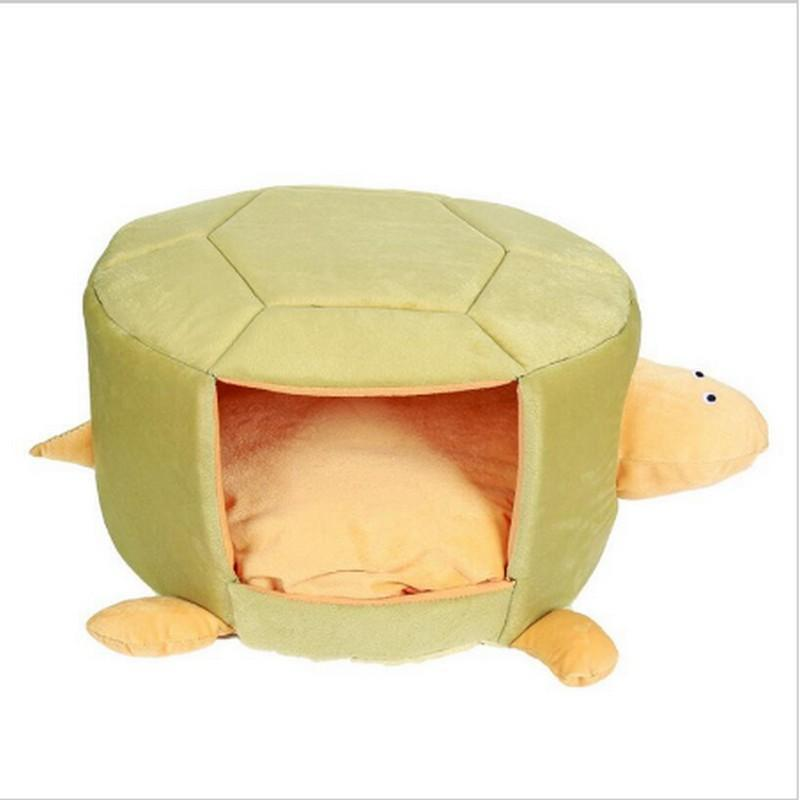 Turtle-shaped Pet Bed