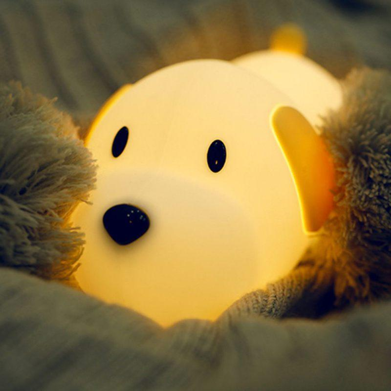 USB Rechargeable Cute Dog Nightlight | Best Gift for Dog Lovers