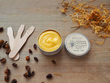 All natural WHIPPED LIP BALM with sea buckthorn oil & calendula infused oil