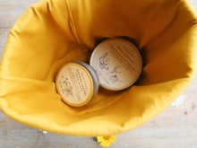 Myrtle & Soap handmade cotton cosmetics basket