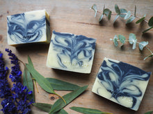 DEEP DUSK natural soap with tea tree, eucalyptus & lavender