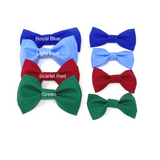 Dog Collar Bow Tie, Blue, Red, Green, Small, Medium, Large, Optional, Removable, Cat Bow Tie, Pet Bow Tie