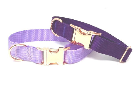 Dog Collar For Girls, Purple, Lavender, Lilac, Female, Nylon, Pet Collar, Personalized, Engraved, Small, Medium, Large, X Large