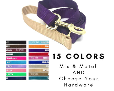 decorative, dog leash, girls, boys, pink, brown, black, blue, purple, red, gold, silver, white, rose gold, 5 foot, leash, lead