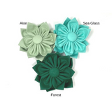Green, Dog Collar Flower, Optional, Removable, For Girls, Dog Collar Accessories