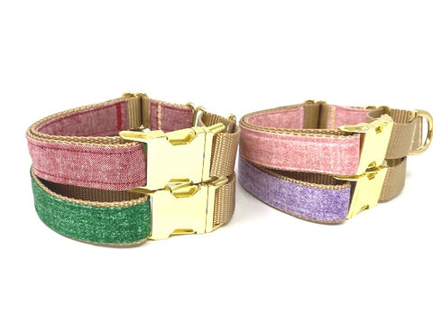 Martingale Dog Collar With Buckle, For Girls, Boys, Red, Green, Pink, Lavender, Gold, Personalized, Engraved, Greyhound, Choker Collar
