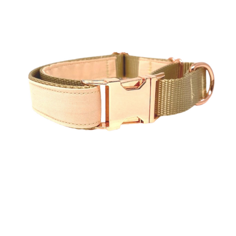 Martingale Dog Collar, Metal Buckle, Rose Gold, Gold, Peach, For Girls, Personalized, Engraved, Custom, Whippet, Greyhound, Puppy, Nude