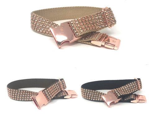 fancy dog collar, sparkle dog collar, rose gold dog collar, brown dog collar, black dog collar, rose gold metal buckle, girls, boys, personalized, engraved, upscale, designer