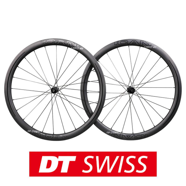 ICAN DT 180 hubs Road Bike Disc Wheelset AERO 40