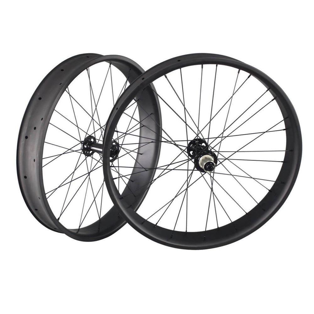 26er Carbon Fatbike Wheelset 90mm