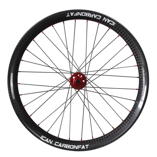 26er Carbon fatbike Wheelset 65C - ICAN Wheels