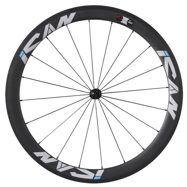 50mm Wheelset with Sapim CX-Ray Spokes - ICAN Wheels