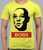 Guss Fringe The Boss - Breaking Bad Mens T-Shirt - Daisy