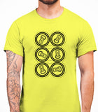 Six Pack Mens T-Shirt - Daisy