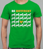 Be Different Havanese Dog  Mens T-Shirt - Irish Green