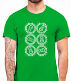 Six Pack Mens T-Shirt - Irish Green