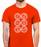 Six Pack Mens T-Shirt - Orange